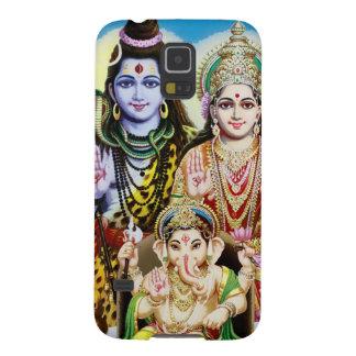 Ganesh, Shiva and Parvati, Lord Ganesha, Durga Case For Galaxy S5