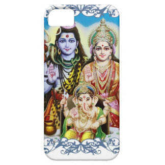 Ganesh, Shiva and Parvati, Lord Ganesha, Durga iPhone SE/5/5s Case