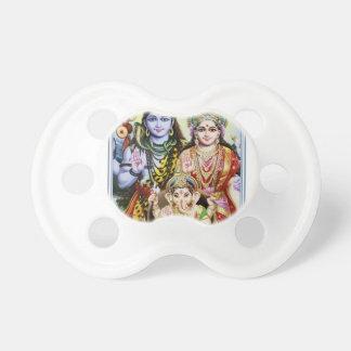 Ganesh, Shiva and Parvati, Lord Ganesha, Durga Baby Pacifier
