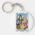 Ganesh, Shiva y Parvati, señor Ganesha, Durga Llavero Personalizado