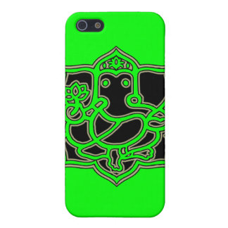 Ganesh Success - Fabric-Inlaid Hard Shell Case for