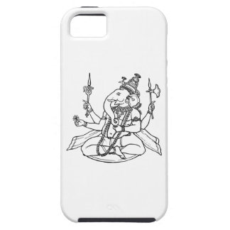 Ganesh, the Hindu God of Luck iPhone 5 Covers