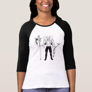 Ganesh Warrior Raglan T Shirt
