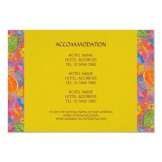 """Ganesh Wedding Enclosure Card 3.5"""" X 5"""" Invitation Card"""