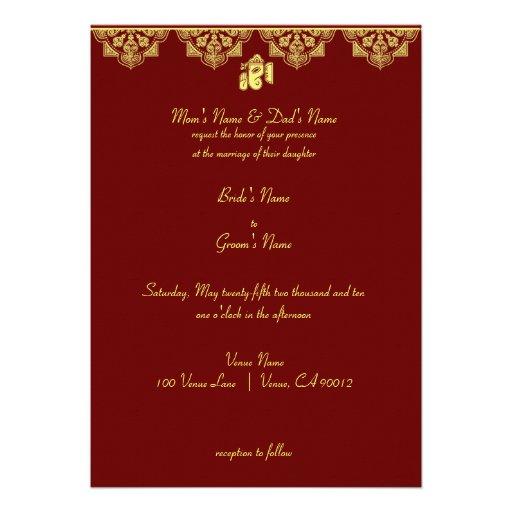 personalized ganesh invitations
