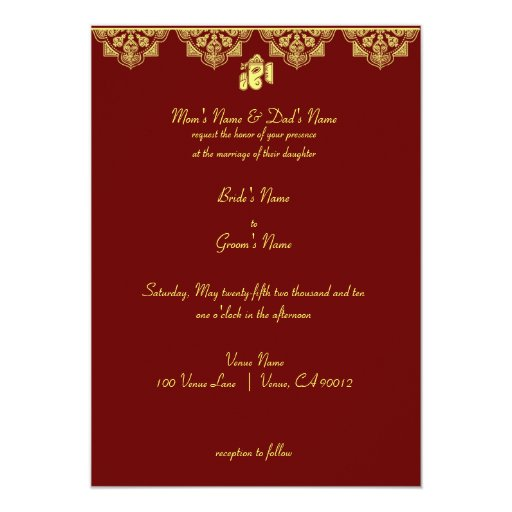 ganesh wedding invitation zazzle With wedding invitation ganesh pictures