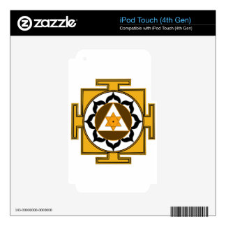 Ganesh Yantra iPod Touch 4G Decal