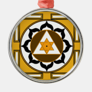 Ganesh Yantra Metal Ornament