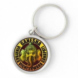 Ganesha2 keychain