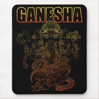 Ganesha4 mousepad