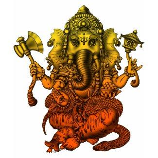 Ganesha7 shirt