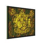 Ganesha8 Stretched Canvas Print