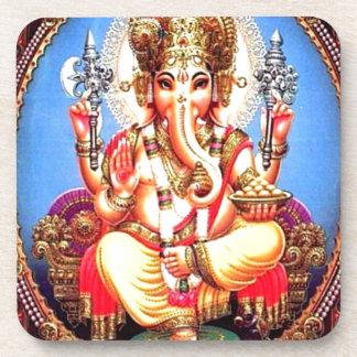 Ganesha (गणेश) Indian Elephant Beverage Coaster