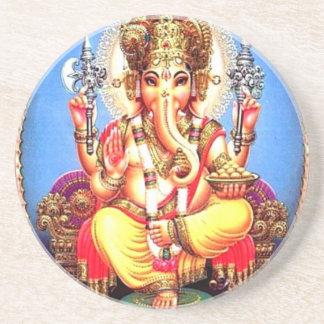 Ganesha (गणेश) Indian Elephant Drink Coaster