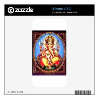 Ganesha (गणेश) Indian Elephant iPhone 4S Skin