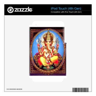 Ganesha (गणेश) Indian Elephant iPod Touch 4G Decals