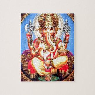 Ganesha (गणेश) Indian Elephant Jigsaw Puzzle