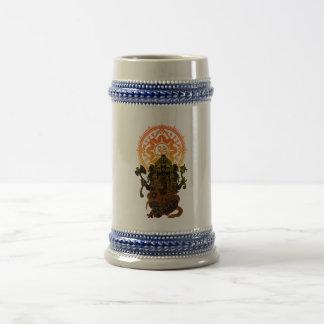 Ganesha 02 beer stein
