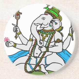Ganesha #3 coaster