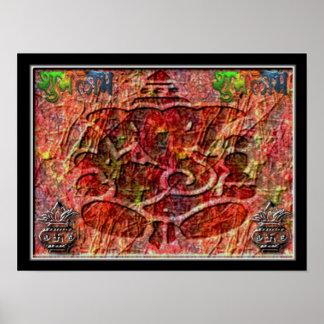 Ganesha Abstractart 2 Poster