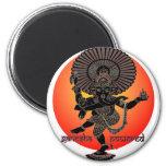 Ganesha accionó imán redondo 5 cm