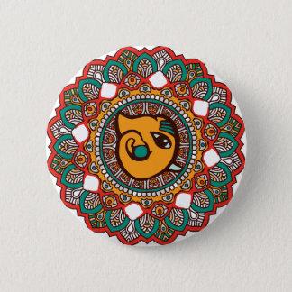Ganesha Art Pinback Button