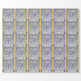 Ganesha Blessing Wrapping Paper