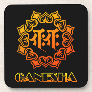 Ganesha bonji 1 drink coaster