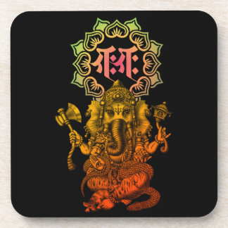 Ganesha bonji 2 beverage coaster