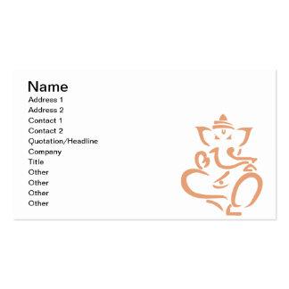 Ganesha Business Card