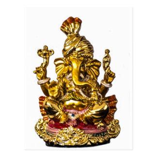 Ganesha by Vanwinkle Designs Postcard