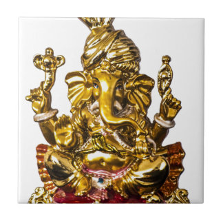 Ganesha by Vanwinkle Designs Tile