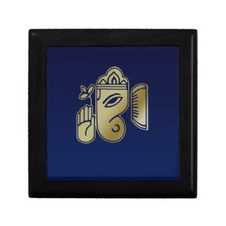 Ganesha - caja de regalo de la teja