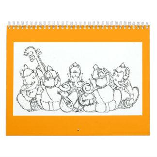 Ganesha Calendar