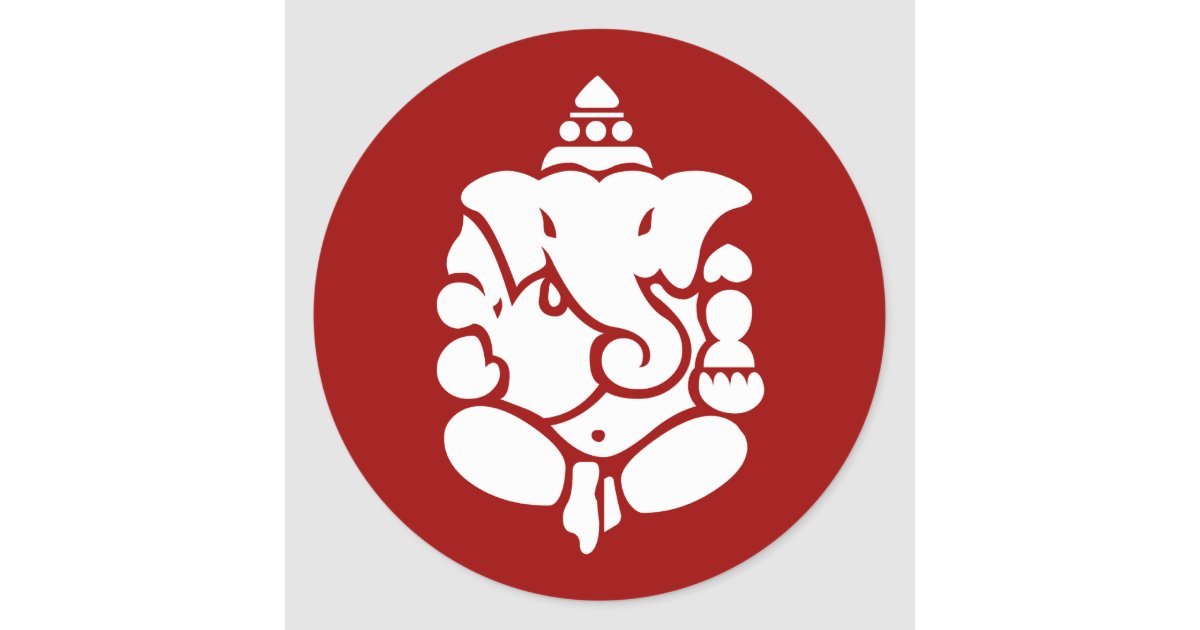 It's just a graphic of Bewitching Red Label Ganpati Ad
