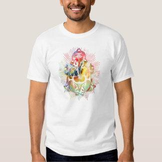 ganesha color1 tee shirt