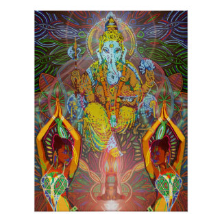 ganesha digitally - 2012 poster