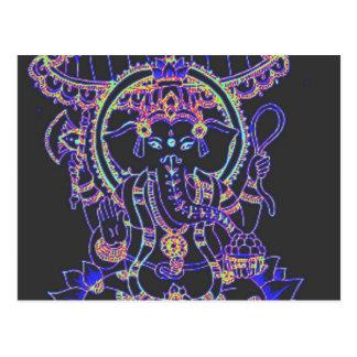 Ganesha Elephant goddess Post Cards