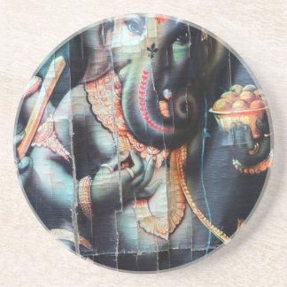 Ganesha elephant Hindu Success God Coaster