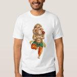 Ganesha en una actitud de la yoga de Vrksasana (ár Playeras