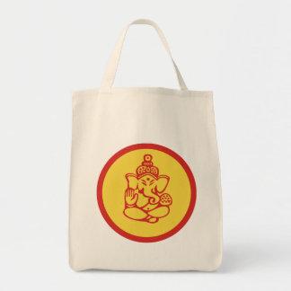 Ganesha Gift Grocery Tote Bag