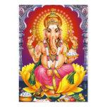 Ganesha - God Bless You Large Business Cards (Pack Of 100)