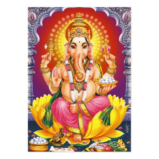 Ganesha - God Bless You Pack Of Chubby Business Cards
