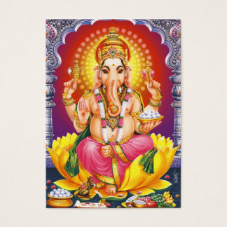 Ganesha - God Bless You Business Card