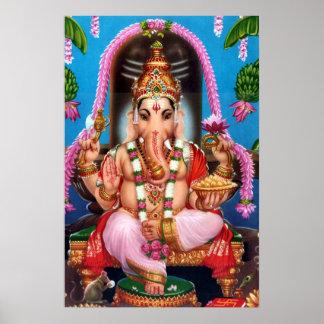 Ganesha God Poster