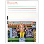 Ganesha God Statue Dry Erase Board