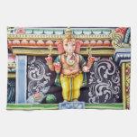 Ganesha God Statue Kitchen Towel
