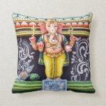 Ganesha God Statue Pillow