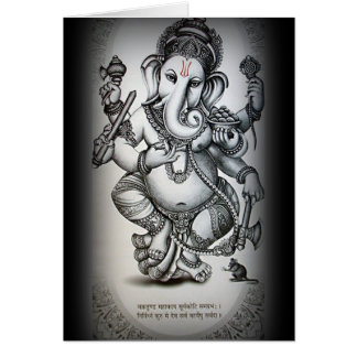 ganesha greetings greeting cards