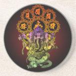 Ganesha Guitar 01 Drink Coaster